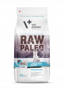VET EXPERT RAW PALEO large size PUPPY 12,0kg