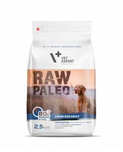 VET EXPERT RAW PALEO large size ADULT 2,5kg